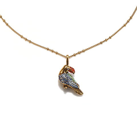 Little Toucan Charm Necklace