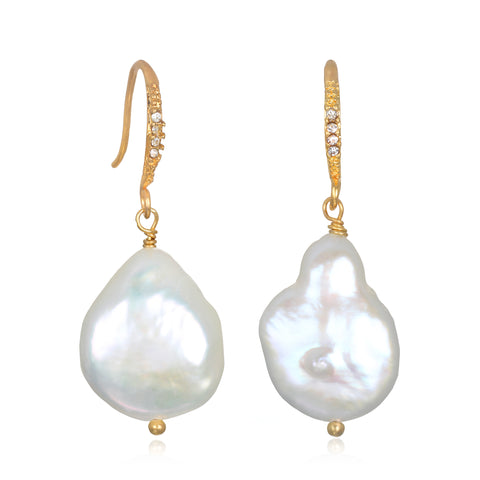 Maeve Pearl Drop Earrings