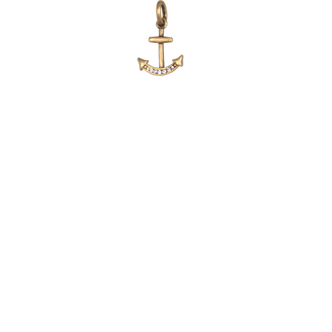 Mini Anchor - Gold