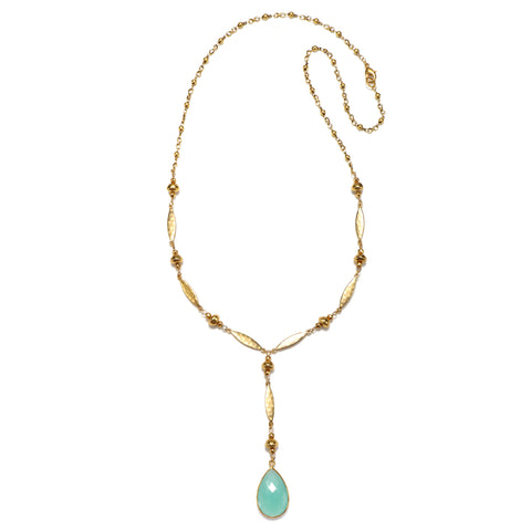Mint Riviera Statement Pendant Necklace