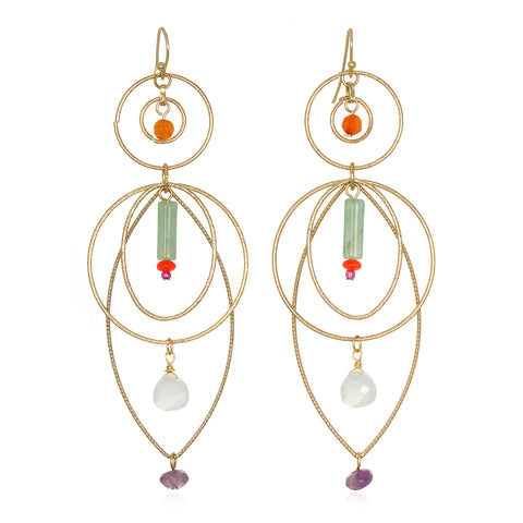 Moval Statement Earrings