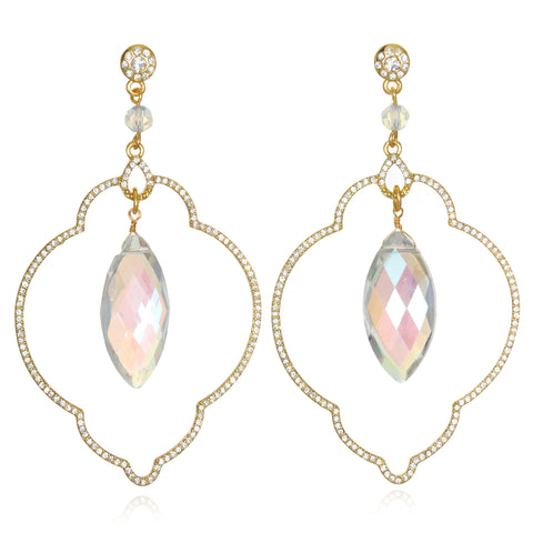 Opal Samba Drop Earrings