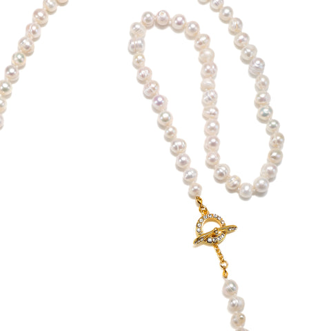 Paloma Pearl Toggle Necklace