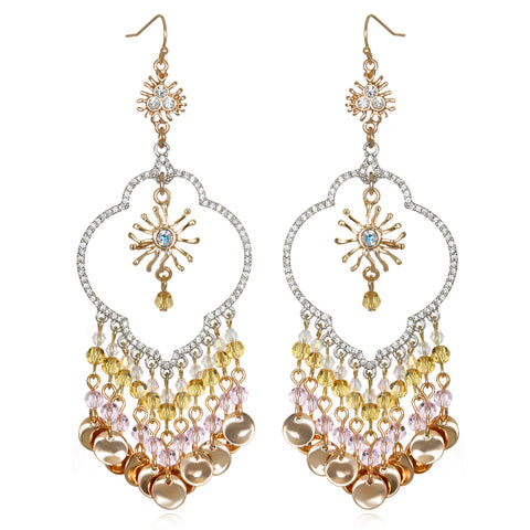 Pastel Samba Chandelier Earrings