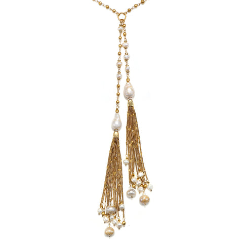 Perla Statement Pendant Necklace
