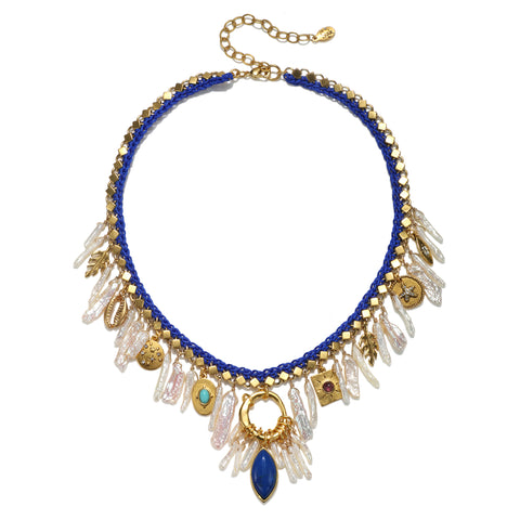 Pharoah Queen Statement Necklace