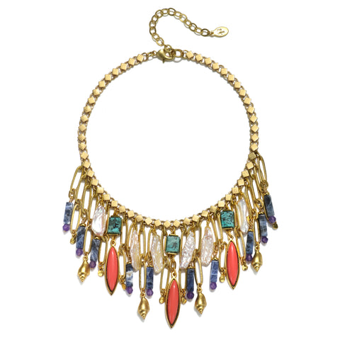 Queen of the Nile Statement Choker Necklace