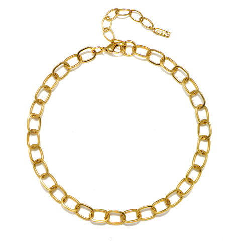 Reese Chain Choker Necklace