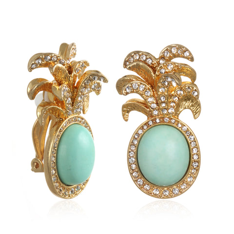 Royal Palm Earrings
