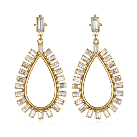 Royal Teardrop Earrings