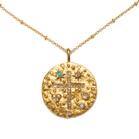 Sacred Talisman Medallion Necklace