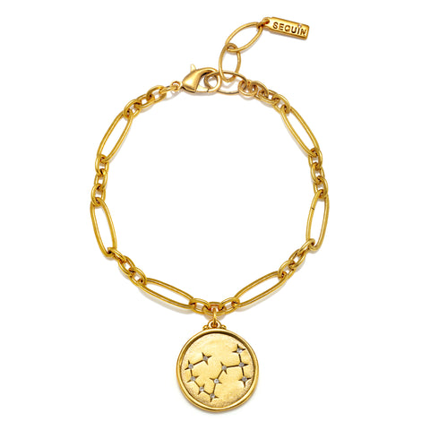 Scorpio Constellation Charm Bracelet