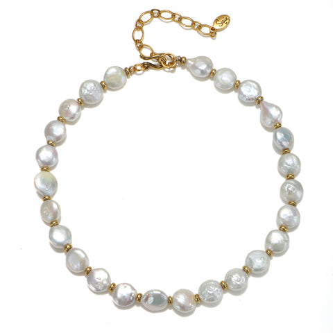 Serenity Pearl Choker Necklace