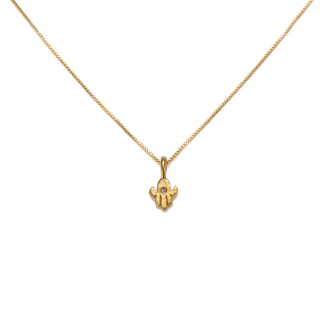 Simplicity Mini Hamsa Necklace