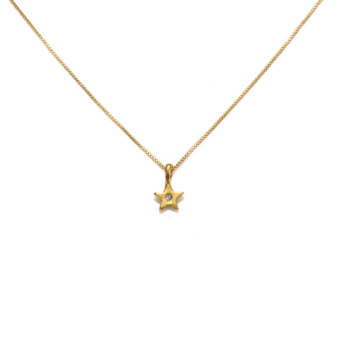 Simplicity Mini Star Talisman Necklace