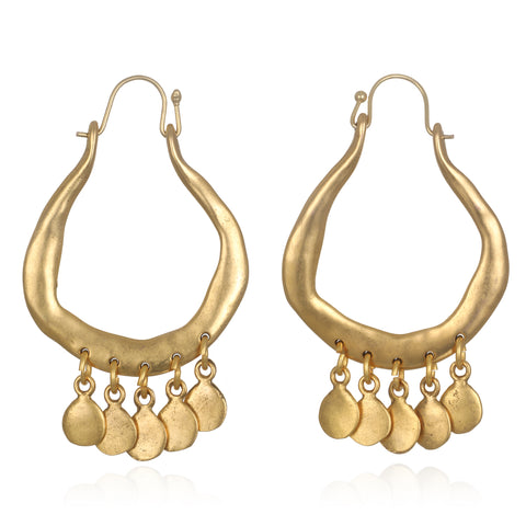Sofia Sculpted Statement Earrings