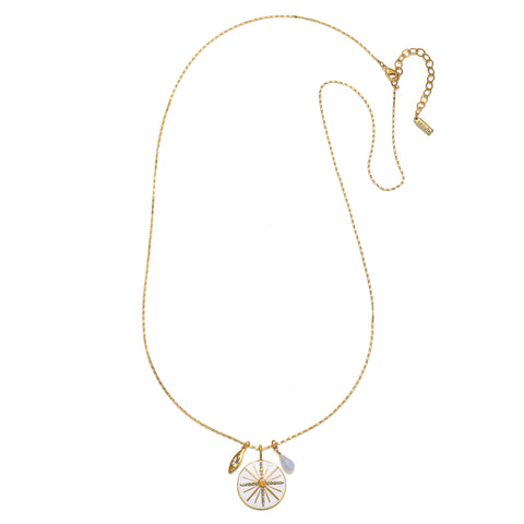 North Star 3-Charm Talisman Necklace