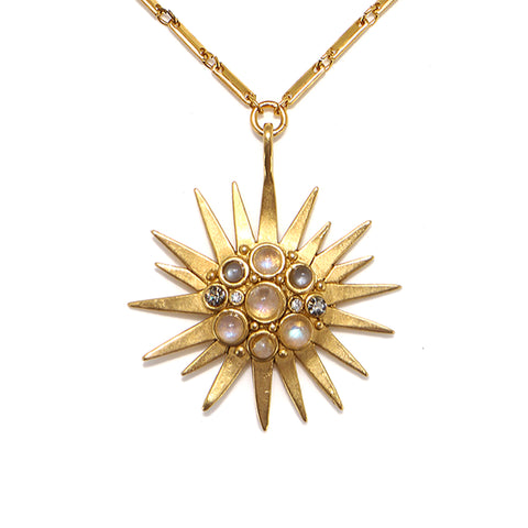Starburst Talisman Necklace