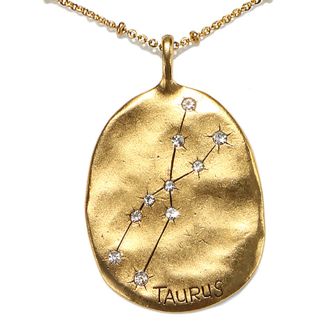 Taurus Stargazer Necklace