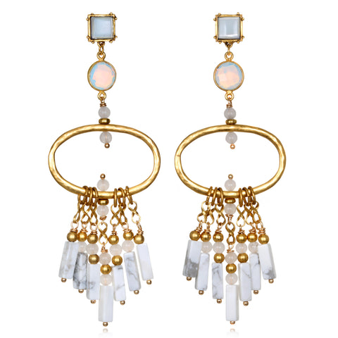 Tortola Chandelier Earrings