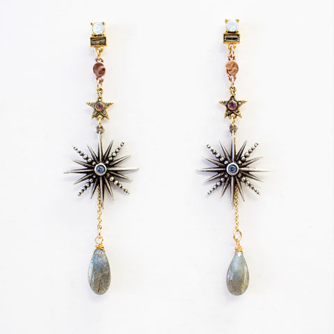 Twilight Star Drop Earrings