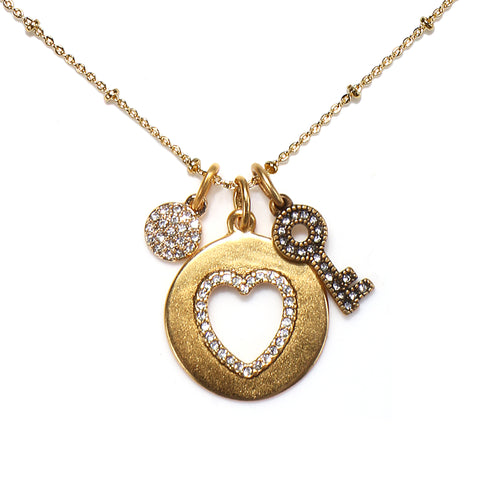 """Unconditional Love"" Talisman Necklace"