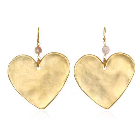 Untamed Heart Statement Earrings