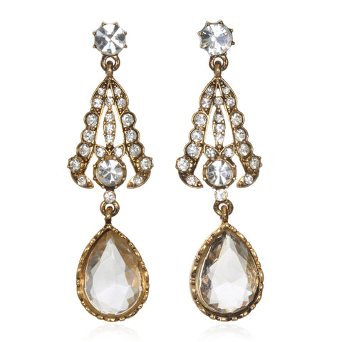 Victorian Teardrop Earrings