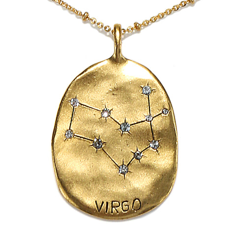 Virgo Stargazer Necklace