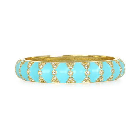 Moorish Turquoise Medium Bangle Bracelet