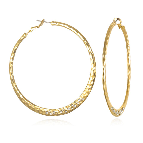 Bowery Hoop Earrings