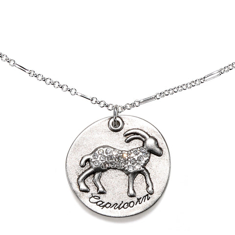Capricorn Zodiac Necklace
