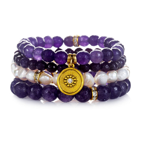 """Out Of This World"" Color Karma Bracelet Set"