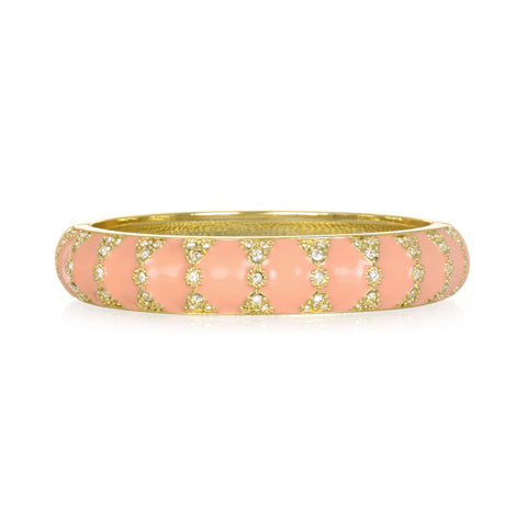 Moorish Blush Medium Bangle Bracelet