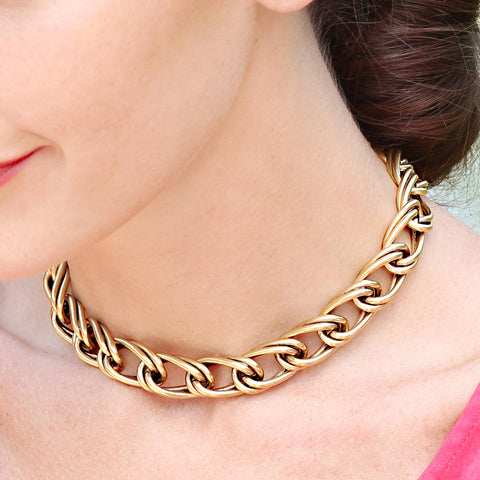 Jordan Chain Choker Necklace