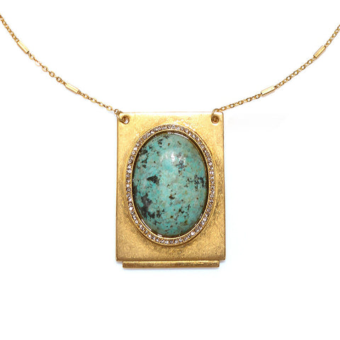 """Lita"" Statement Pendant Necklace"