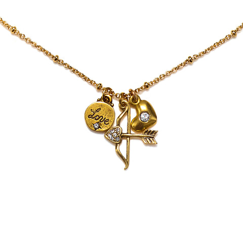"""My Aim is True"" Talisman Necklace"
