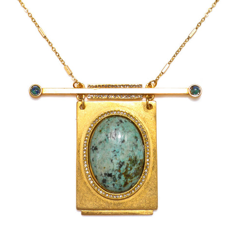 """Nico"" Statement Pendant Necklace"