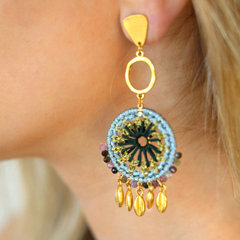Soledad Artisan Statement Earrings