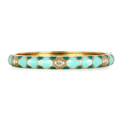 Tuile Mint Narrow Bangle Bracelet