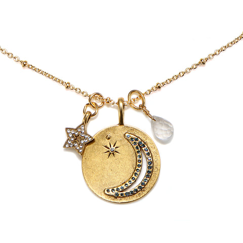 """Wish Upon a Star"" Talisman Necklace"