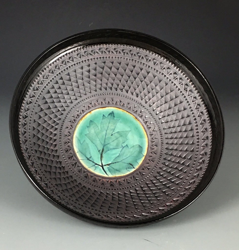 Rimmed Persian Bowl in Celadon