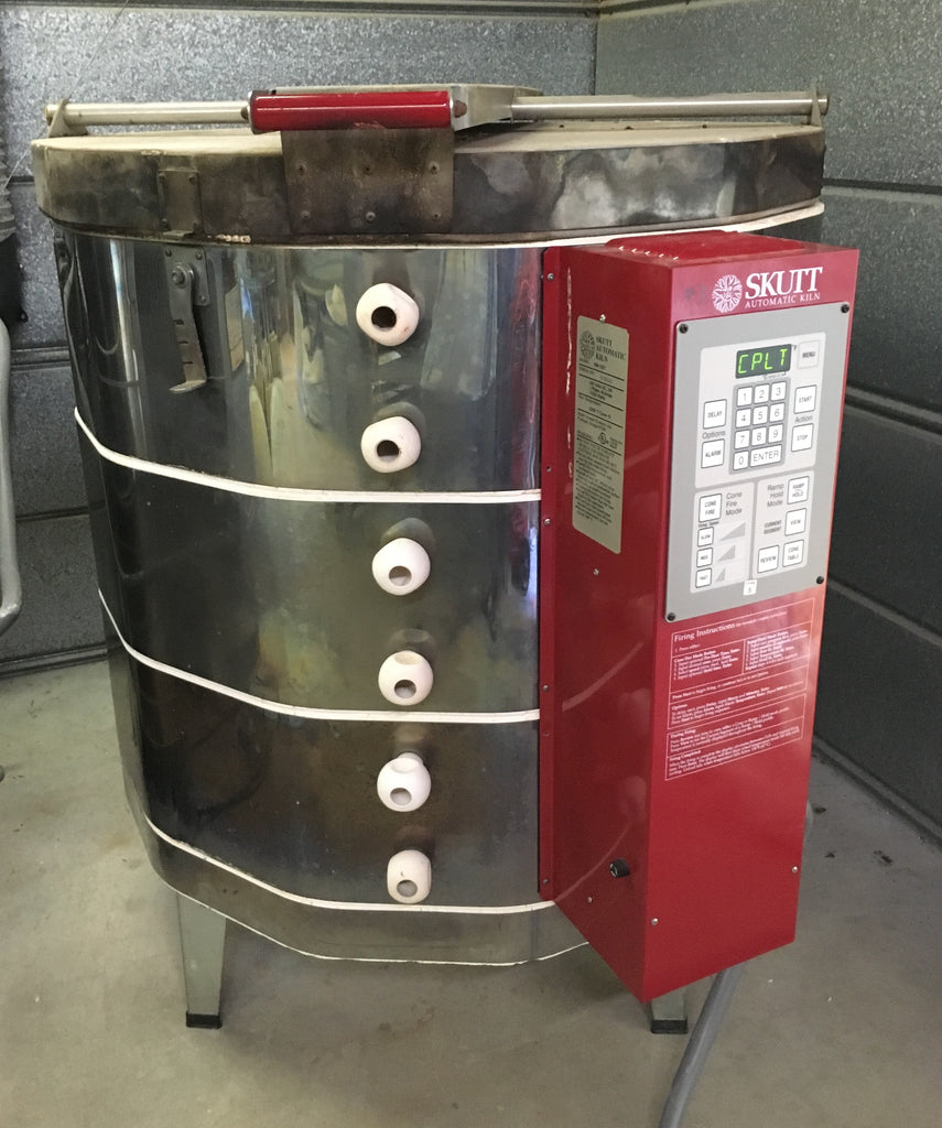 Skutt 1227-KM Kiln with Heavy Duty Elements and S Thermocouple