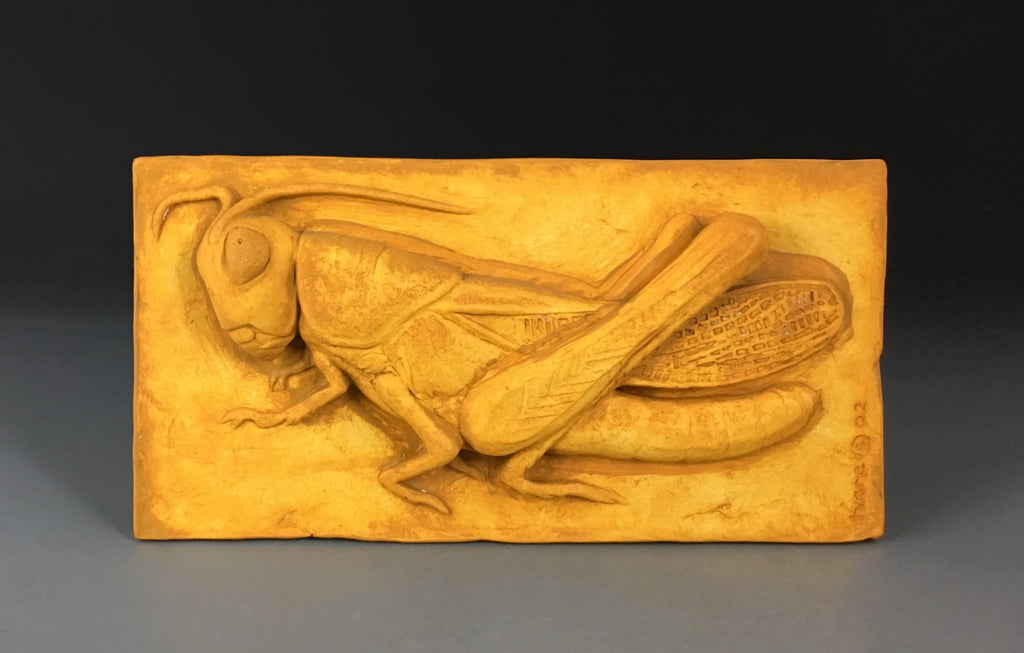 Gordon Hare Grasshopper Wall Piece