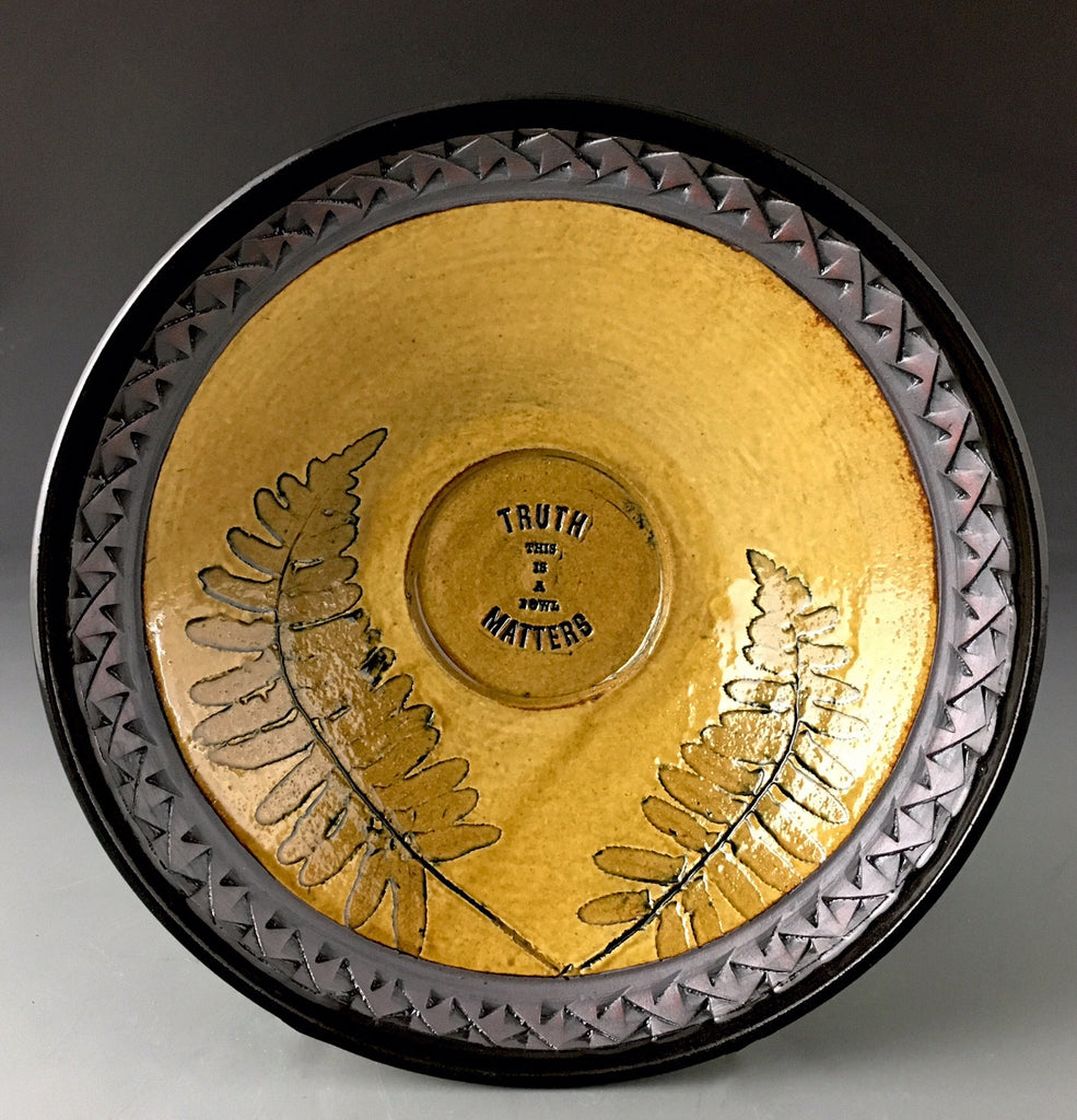 Truth Matters Bowl in Amber -SOLD- Accepting orders.