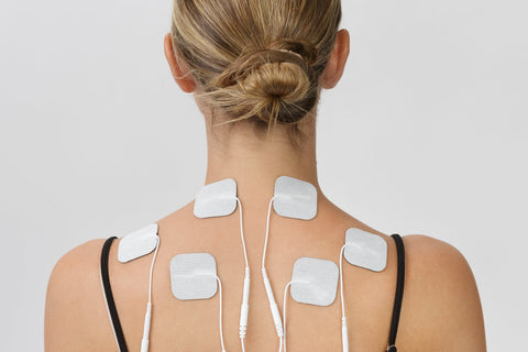 Tens Unit Pads, LuxFit Premium Tens Unit Electrodes Replacement, FDA Approved Tens Unit Replacement Pads. 8 PACK, EMS Tens Unit Gel Pads, Reusable, Long Lasting, Latex Free, Universally Compatible