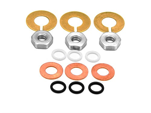 Replaces Comet Pump 0600.0062.00 Piston Nut and Seal Kit for TWN, TW, TWS Pumps
