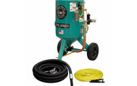 Clemco Style Classic 150 Sandblaster 6 CUFT Sand Pot Basic Blasting Package
