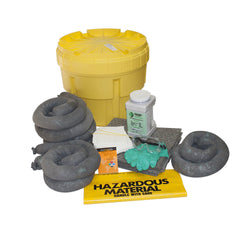 20 GALLON UNIVERSAL JOBSITE EMERGENCY RESPONSE SPILL KIT CLEANS OILS CHEMICALS