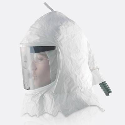 TYVEK AIR FED PAINTING HOOD MASK RESPIRATOR FOR FRESH AIR PAINTING MASK
